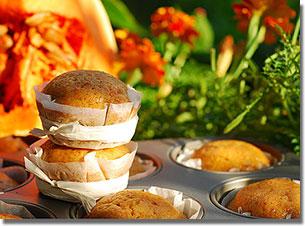 Sütőtök-muffin