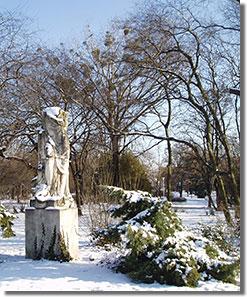 Antonio Canova 'Béke'-szobrának másolata