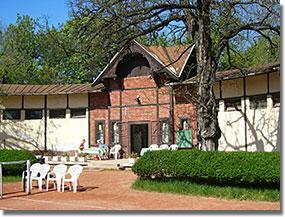 Az egykori népligeti teniszklub épülete ma