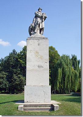 Pankotai Farkas Béla 1934-es lengyel-magyar barátság emlékműve