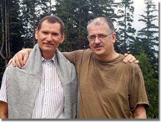 Varga E. Árpád és Tánczos Vilmos barátsága 1980-ban kezdődött