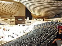 A Yoyogi-stadion belülről