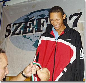 A Budapest Open aranyérmese