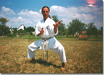 Rebicek Gerd 5 danos karate-mester