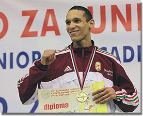 A 38. Junior, Kadet és U21 Karate Európa-bajnokság győztese