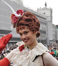 A 2010-es velencei karnevál Mária ünnepének szépségkirálynője