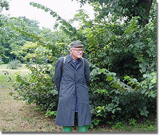 Pesti Laci bácsi, a Népliget legendás kertésze