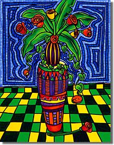 Virág konga