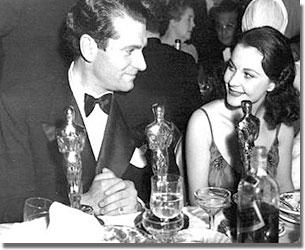 Vivien Leigh és Laurence Olivier az 1939-es díjátadón
