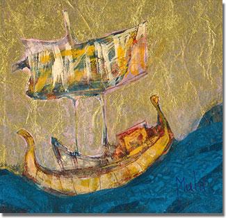 Mint amikor kinyílik egy csillagkapunál fényesebb égi-lélek-kapu, úgy jelent meg hirtelen a Szúfi hajója...
