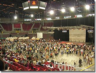 XXIX. Országos Táncháztalálkozó és Kirakodóvásár a Budapest Sportarénában